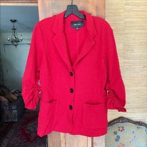 Chic KAREN KANE Fitted Red Sport Jacket